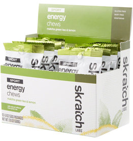 Skratch Labs SKRATCH ENERGY CHEWS MATCHA & LEMON