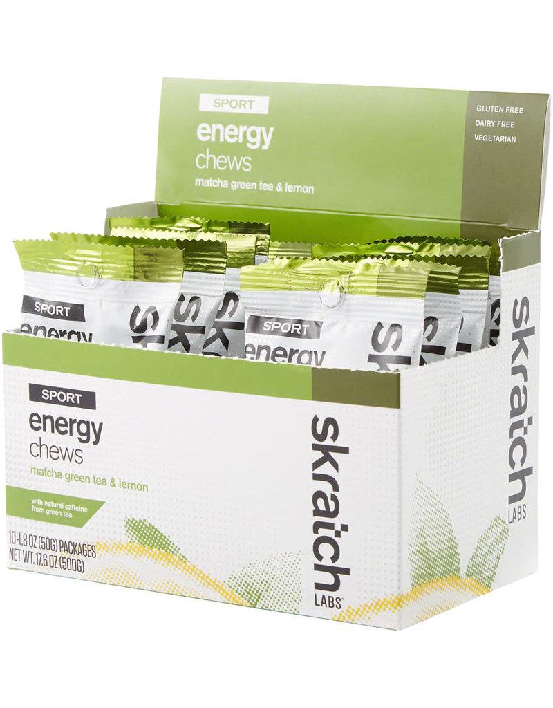 Skratch Labs SKRATCH ENERGY CHEWS MATCHA & LEMON