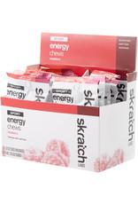 Skratch Labs SKRATCH ENERGY CHEWS RASPBERRY