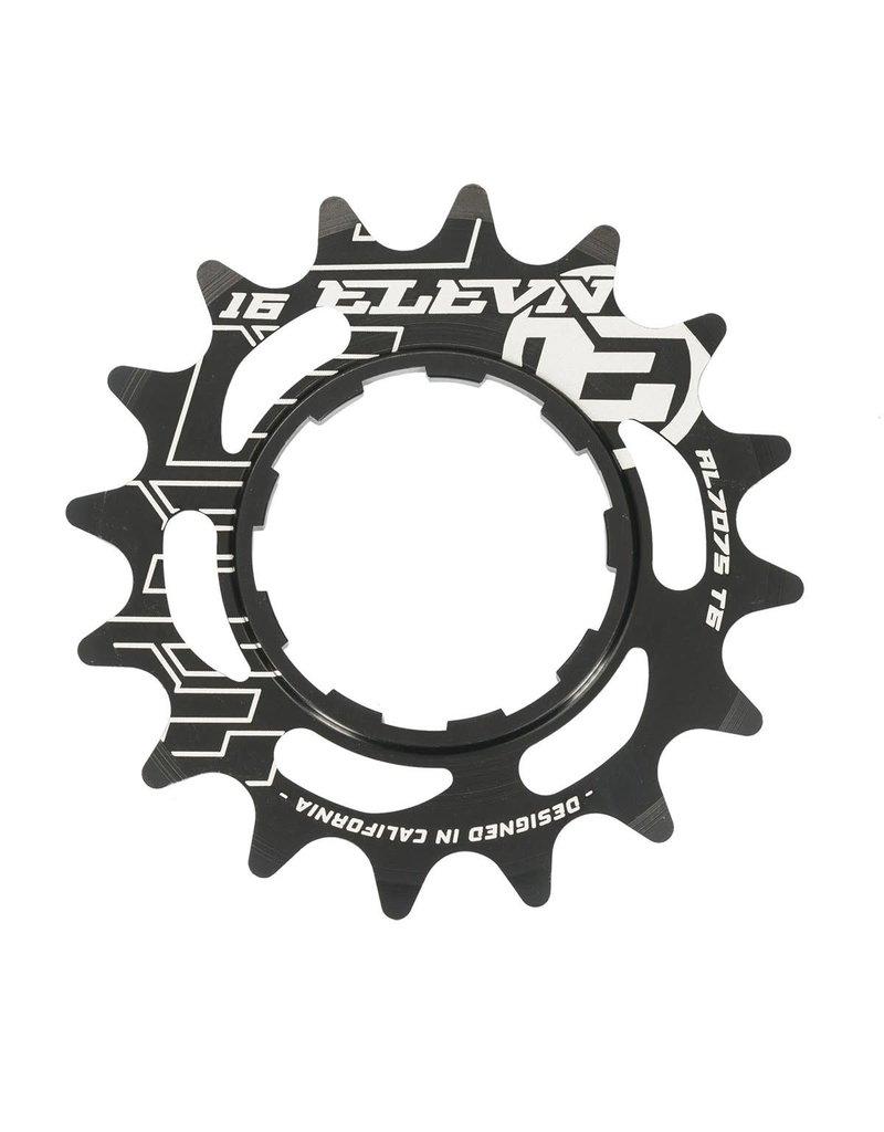 Elevn CASS COG 16T ELEVN ALUMINUM BLK