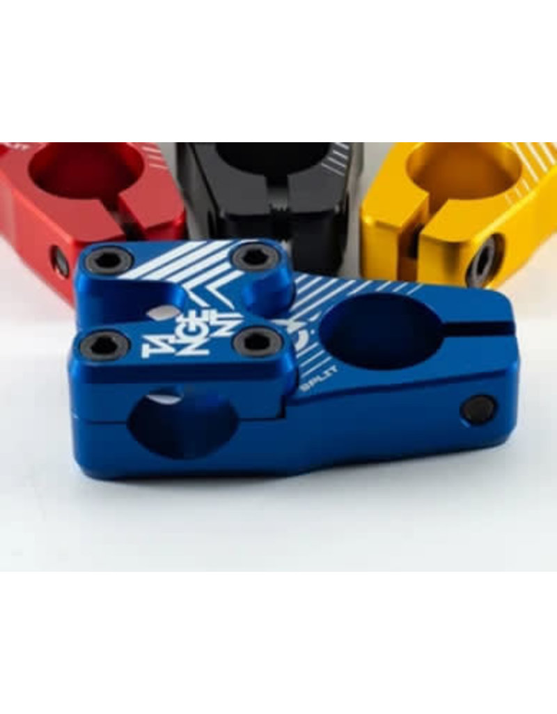 Tangent Products STEM BMX MINI TANGENT SPLIT 40MM BLUE