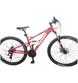 "Pirahna PIRANHA ATLAS FULL SUSPENSION 29ER 18"" RED"