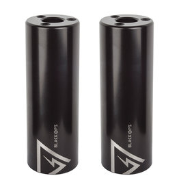 PEG STEEL BLACK 14MM/10MM PAIR