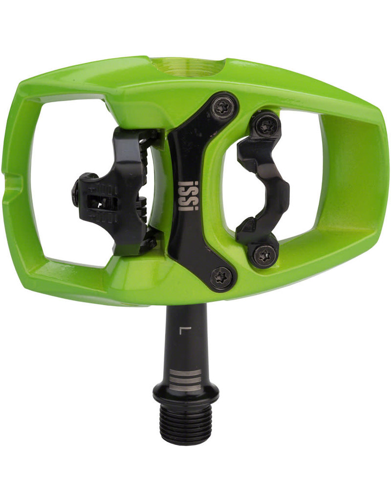 iSSi PEDAL CLIPLESS ISSI FLIP-III LIME