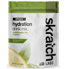 Skratch Labs SKRATCH HYDRATION MATCHA GREEN TEA AND LEMONS 20SVG