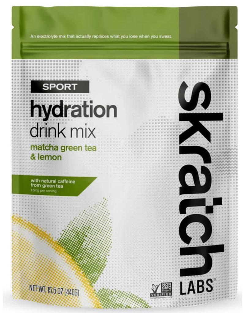 Skratch Labs SKRATCH HYDRATION MATCHA GREEN TEA AND LEMONS 20SVG