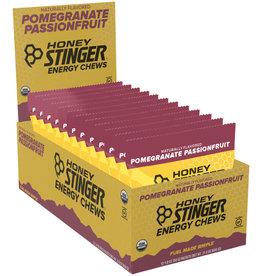 Honey Stinger HONEY STINGER ORGANIC CHEWS POMEGRANATE