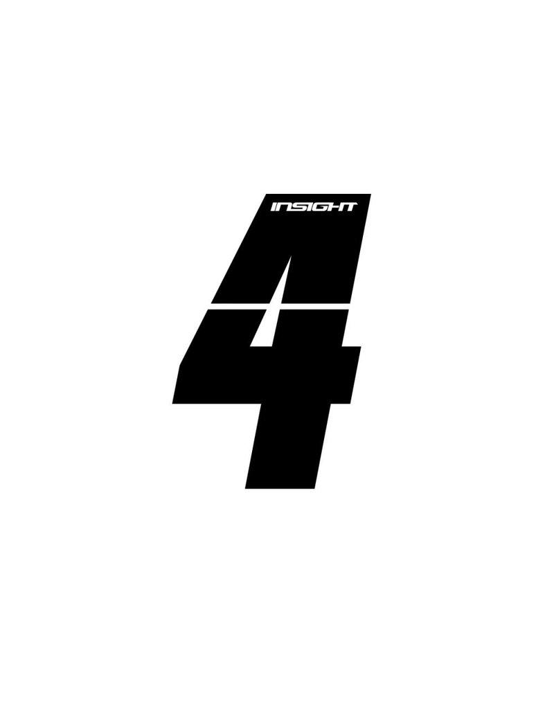 "Insight BMX NUMBER 3"" INSIGHT 4"