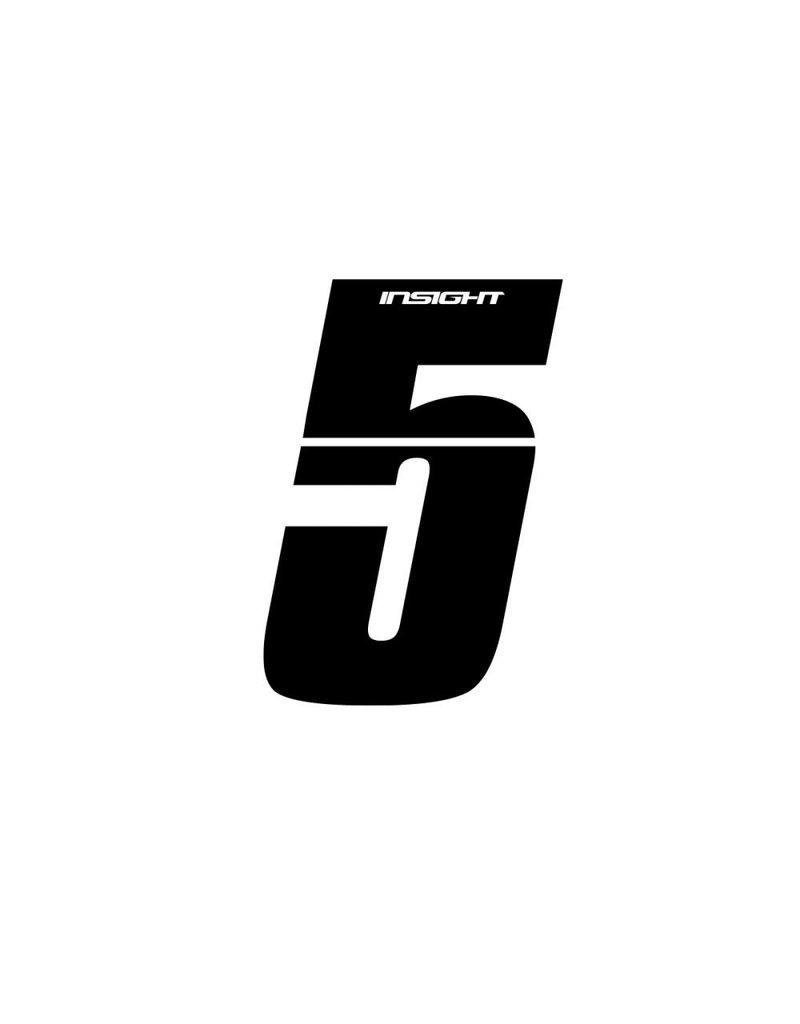 "Insight BMX NUMBER 3"" INSIGHT 5"