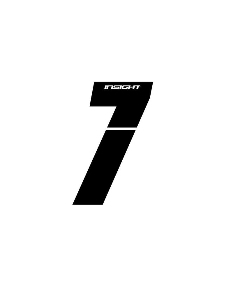 "Insight BMX NUMBER 3"" INSIGHT 7"