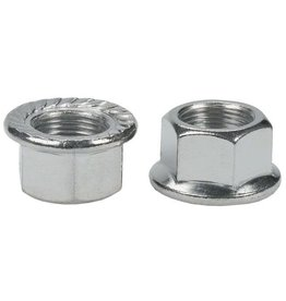 AXLE NUT FLANGED 14MM EACH