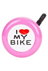 BELL I LOVE MY BIKE PINK