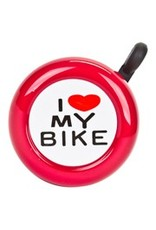 BELL I LOVE MY BIKE RED