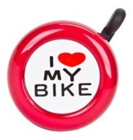 BELL I LOVE MY BIKE RED