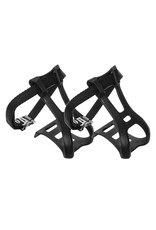 TOE CLIPS W/STRAP LARGE