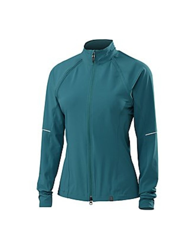 Specialized JACKET WOM SPEC DEFLECT HYBRID MD BLK/TEAL