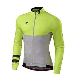 Specialized JERSEY SPEC THERMINAL LS MD GREY/YELL