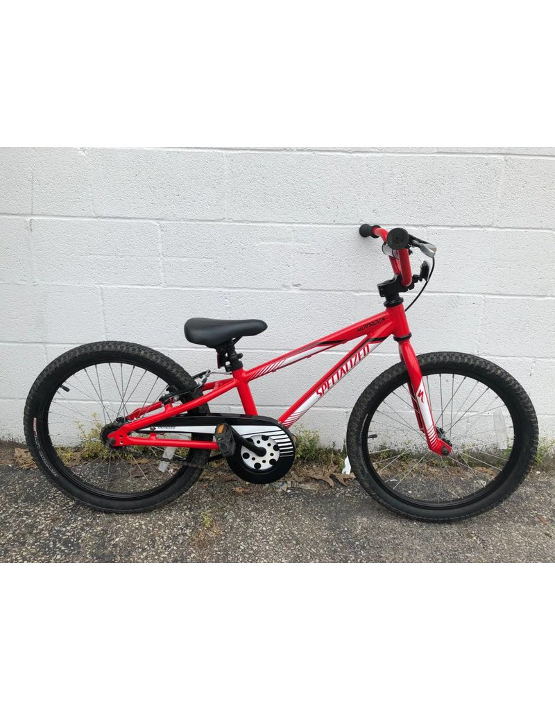 """Specialized PRE-OWNED 20"""" SPEC HOTROCK CB RED"""