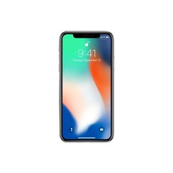 Apple iPhone X - 64GB, Silver (RB)