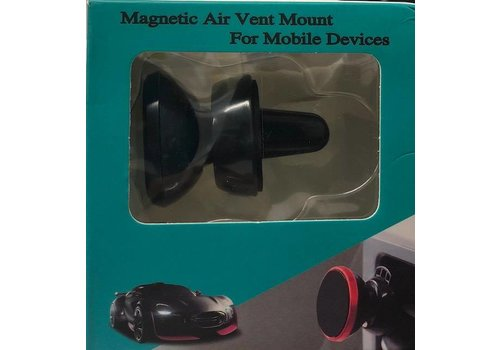 Magnetic Air Vent Holder For Mobile Devices (Green Package)