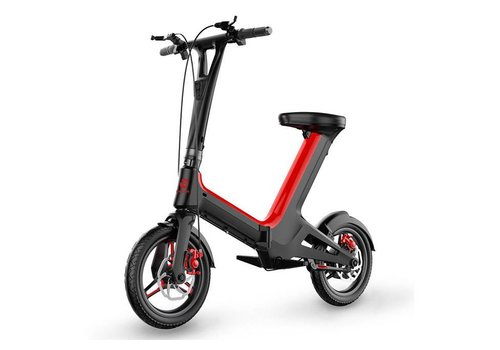 Electric Scooter (Scoot E-Bike 9700) - Red