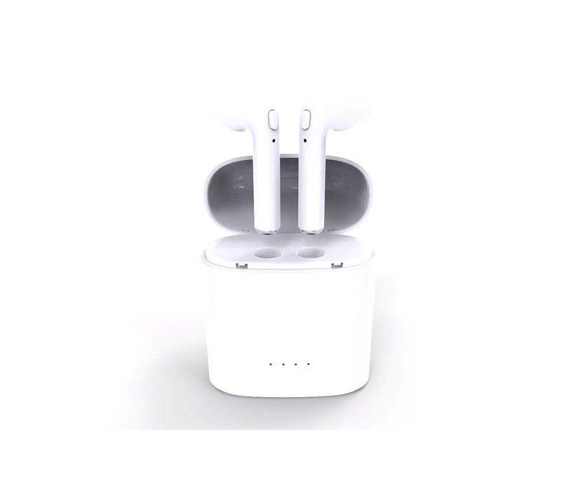 Bluetooth Wireless Dual Earphones (i7S TWS)