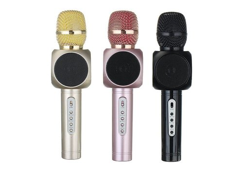 Wireless Microphone w/ Speaker (Magic Karaoke Player) (E-103)
