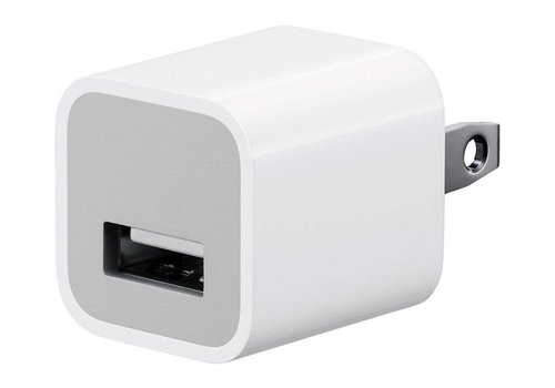Apple Wall USB Power Adapter- 1 Port Cube (AAA)(Package)