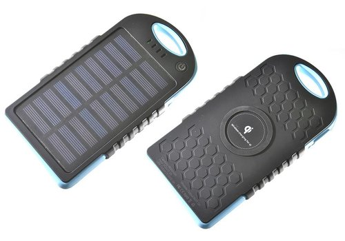 Power Bank - Solar Charging for Qi (8000mah)