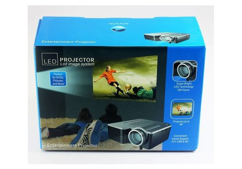 LED Projector (Blue Package)