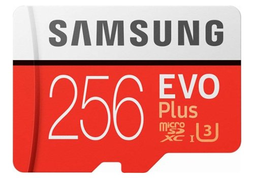 SanDisk Samsung Evo Plus Micro SD Card 256GB