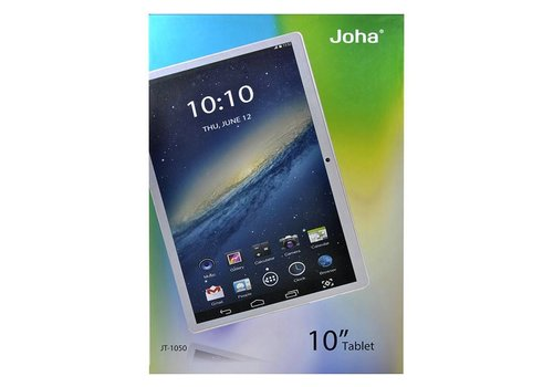 "Icon Q Joha 10"" Tablet with 16GB (JT-1040 / JT-1050)(WiFi Only)"