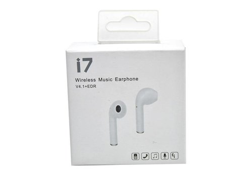 Bluetooth Wireless Music Mono Earphone (HBQ-i7 or i7R)