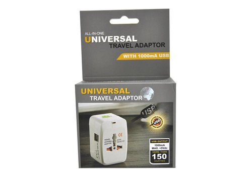 International-Universal Wall Adapter (2 USB) (CAI-12)