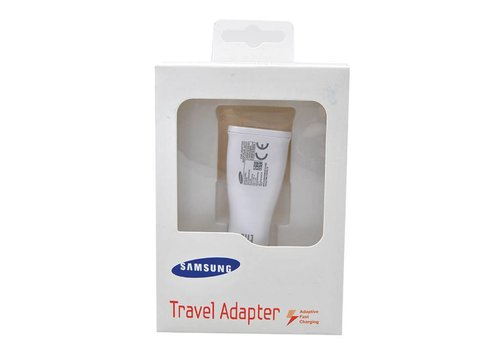 Original Samsung Car Fast Charging Adapter (White Box)