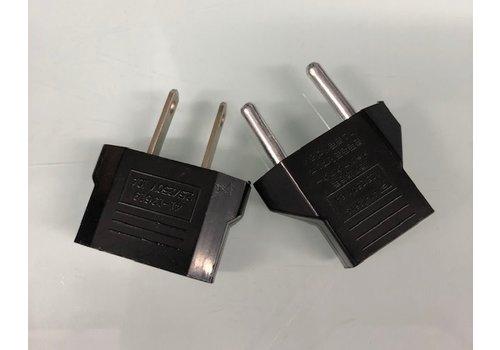 2-Prong Flat Adapter (USA)