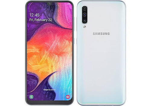 Samsung Samsung Galaxy A50- 128GB, White (New)(4G LTE)