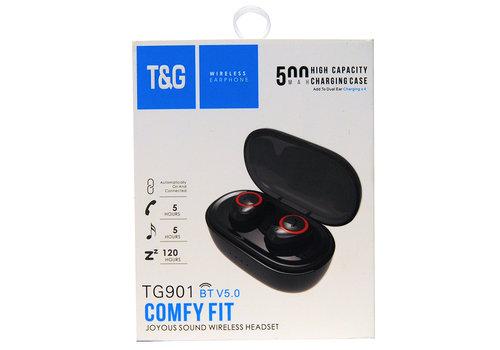 Bluetooth Wireless Dual Earphones (TG901)