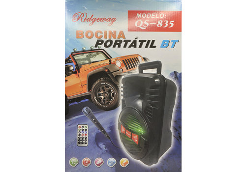 Ridgeway - Bluetooth Speaker (QS-835)
