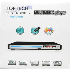 Top Tech Multimedia Player (DVD Player-USB,MP3 Dgital Audio)(HD-900)