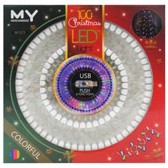 100 LED 6CM Foam Christmas Light (W3325)