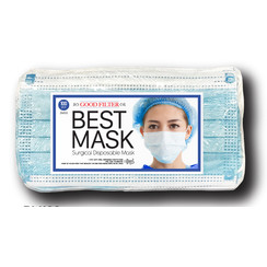 Respirator - Blue Mask (BM-100) - 100 Pack