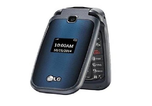 LG LG B450 Flip Phone (Red-White Box) (CW Stock)