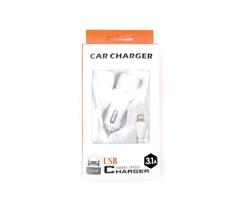 2in1 Car Combo- MicroUSB (Orange Packaging)