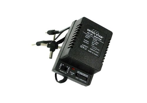 Seven Star Seven Star Universal AC/DC Adapter 3 Plug (1000MA)