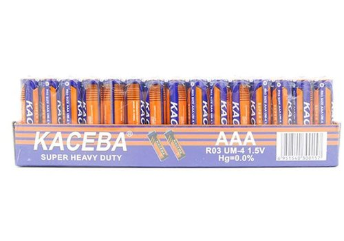 Kaceba AAA Battery 60 Pack