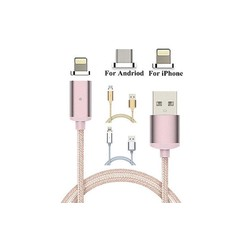 2in1 Multi-Pin Lightning/V8 Cable (Magnetic)