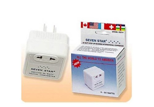 Seven Star Seven Star Voltage Converter (110V to 220V) (50W)