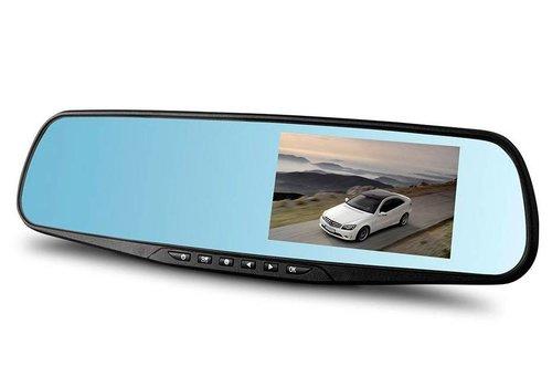 HD Portable DVR Vehicle Blackbox (Full 1080 - Rearview Mirror)