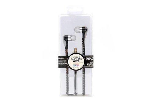 Zipper Earphones- (D-03/D-05/D-07)